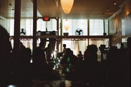 Dining Room at Pizzaiolo, Oakland, CA