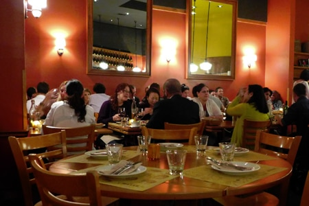 Dining Room at Pizzeria Mozza, Los Angeles, CA