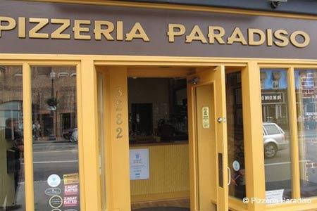 Dining Room at Pizzeria Paradiso, Washington, DC