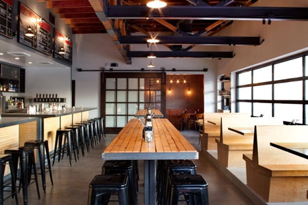 Dining room at Plan Check Kitchen + Bar, Los Angeles, CA