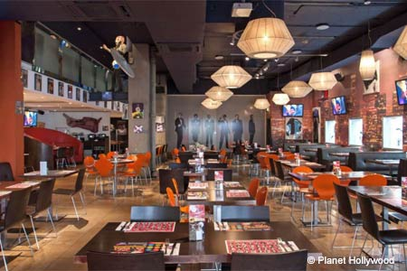 Planet Hollywood , London, UK