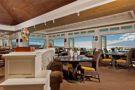 Dining Room at Plantation House Restaurant, Kapalua, HI