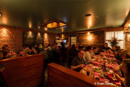 Dining Room at Pok Pok NY, Brooklyn, NY