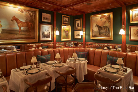 Serious movers-and-shakers frequent The Polo Bar, Ralph Lauren's buzzy Italian restaurant