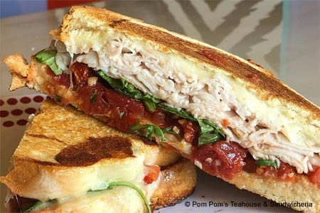 Pom Pom's Teahouse & Sandwicheria, one of GAYOT's Best Cheap Eats in Orlando