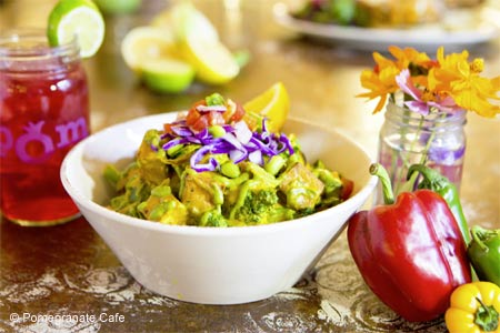 Pomegranate Cafe, one of GAYOT's Best Heart-Healthy Restaurants in Phoenix