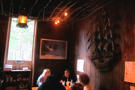 Dining room at Port of Call, New Orleans, LA