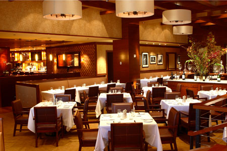 Straight-up classic steaks and chops keep company with premium seafood at Porter House New York, one of the 2014 Top 10 Steakhouses in the U.S.