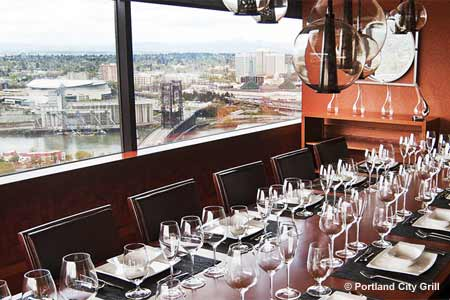 Dining Room at Portland City Grill, Portland, OR