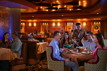 Dining Room at Primarily Prime Rib, Las Vegas, NV