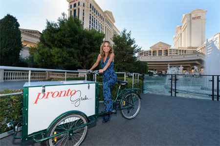 Pronto by Giada will open at Caesars Palace in early 2018