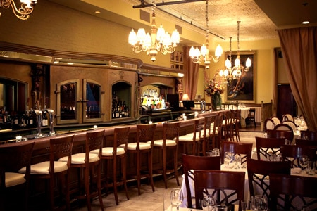 Dining Room at Prosecco, Chicago, IL