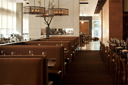 Dining room at Prospect, San Francisco, CA