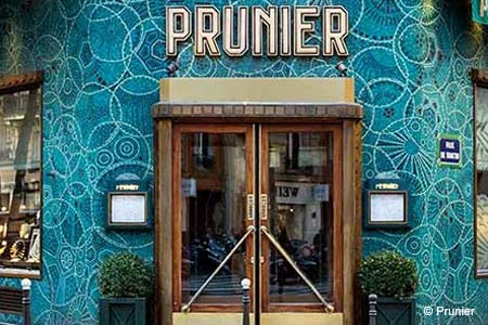 Prunier, Paris, france