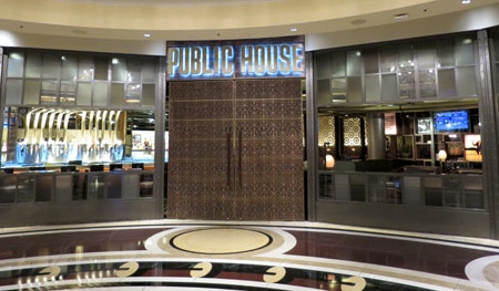 Dining Room at Public House, Las Vegas, NV