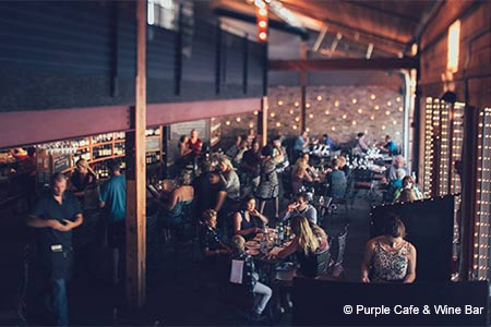 Purple Cafe & Wine Bar, Seattle, WA