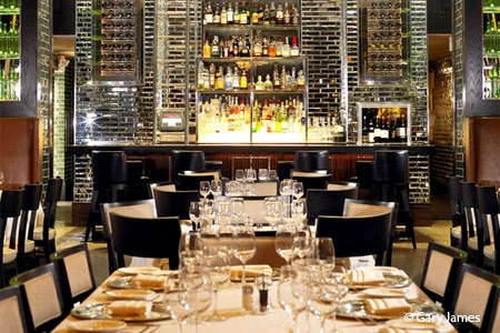 Dining room at Quattro Gastronomia Italiana  , Miami Beach, FL