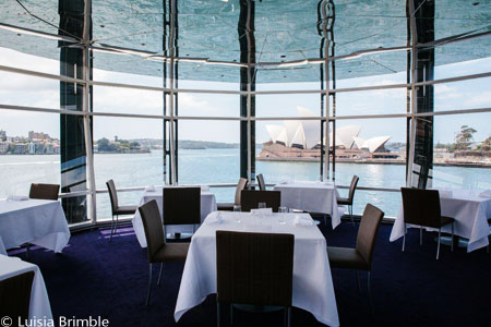 Dining room at Quay, Sydney, australia