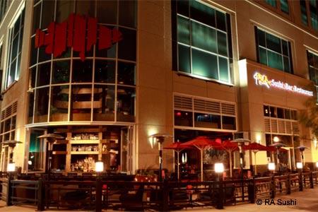 Dining Room at RA Sushi Bar Restaurant, Atlanta, GA