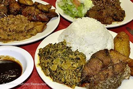 Rainbow African Restaurant, Gaithersburg, MD