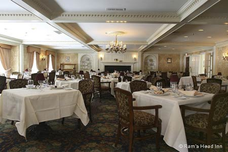 Celebrate Mother's Day with a special brunch at Ram's Head Inn in Galloway, New Jersey, near Atlantic City