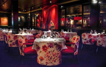 Dining room at THIS RESTAURANT IS CLOSED Rare by Drai's, West Hollywood, CA