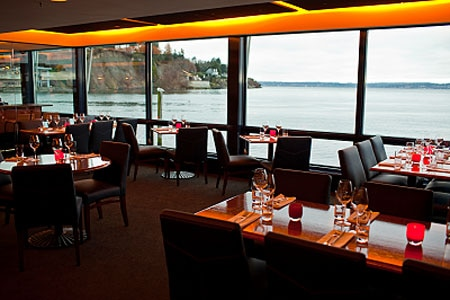 Dining Room at Ray's Boathouse, Seattle, WA