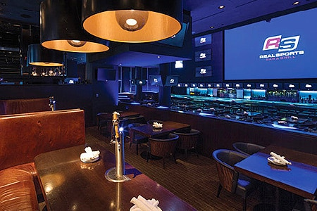 Dining Room at Real Sports Bar & Grill, Toronto, ON