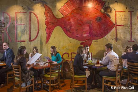 Dining Room at Red Fish Grill, New Orleans, LA