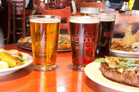 Enjoy a few beers at the Red Rock Brewing Company in Salt Lake City, Utah