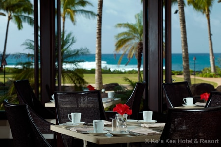 Dining room at Red Salt, Koloa, HI