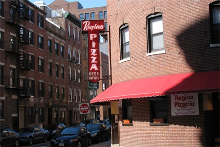 Regina Pizzeria, Boston, MA