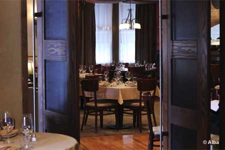 Dining Room at Alba, Malvern, PA
