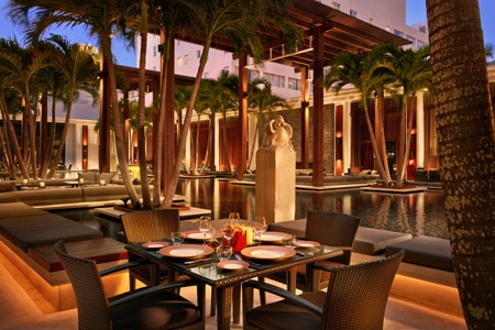 THIS RESTAURANT HAS CHANGED NAMES The Restaurant at The Setai, Miami Beach, FL