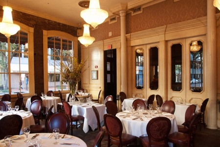 Dining room at Restaurant August, New Orleans, LA