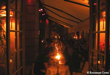 Restaurant Costes, Paris, france