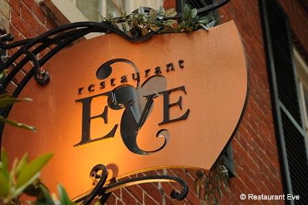 Dining Room at Restaurant Eve, Alexandria, VA