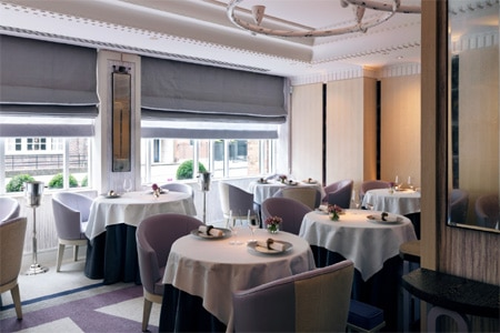 Restaurant Gordon Ramsay's wine list offers rare Burgundies and a collection of Hermitage you'd find difficult to come across in France