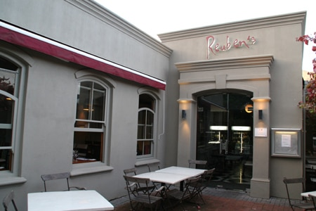 Reuben's Restaurant & Bar, Franschhoek, south-africa