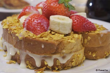 Enjoy a special Easter brunch at Reveille Cafe in Acworth, Georgia