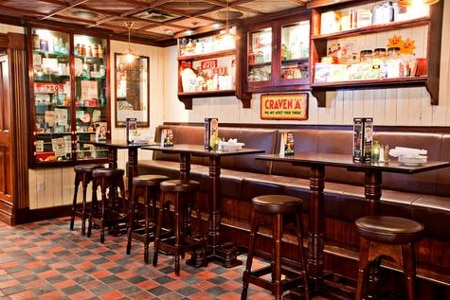 One of the Top 10 Irish Pubs in the U.S., Ri Ra Irish Pub was constructed from a pub that was meticulously restored in Ireland before being shipped to Las Vegas