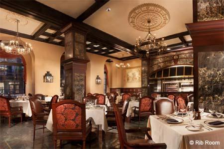 Dining Room at Rib Room, New Orleans, LA