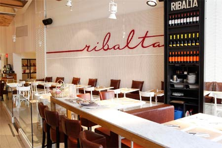 Dining Room at Ribalta, New York, NY