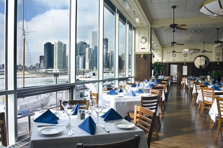Dining Room at Riva, Chicago, IL