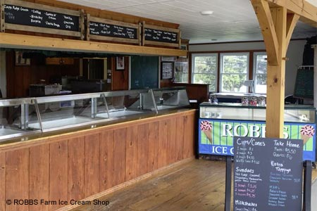 ROBBS Farm Ice Cream Shop