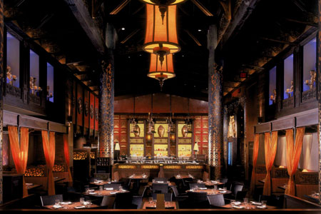 Dining Room at RockSugar Pan Asian Kitchen, Los Angeles, CA