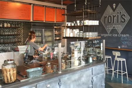 Rori's Artisanal Creamery has opened in Santa Monica