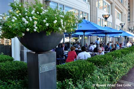 Dining Room at Rowes Wharf Sea Grille, Boston, MA
