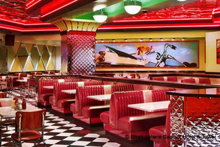 THIS RESTAURANT HAS CHANGED NAMES Roxy's Diner, Las Vegas, NV