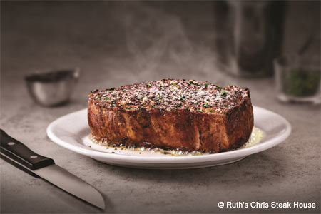Ruth's Chris Steak House is one of the best steakhouse restaurants in Westchester